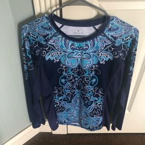 Athleta long sleeve athletic top..size Small